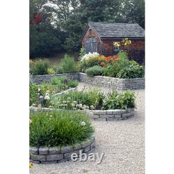 18 In. Spikes Raised Garden Helps Insulate Soil Bed Retaining Wall