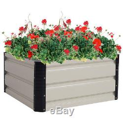 2 PCS Square Raised Garden Bed Flower Seeds Planter Vegetables Flower Seed Plant