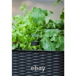 50 in. X 30 inch Raised Garden Bed Outdoor Planter Box Elevated Self Watering