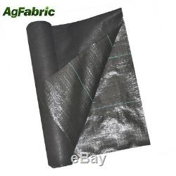 Agfabric Weed Barrier Landscape Fabric for Weed Block in Raised Garden Bed 3.2oz