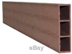 Composite Raised Garden Bed Grow Flower Plant Box Wood Vegetable Growing New