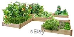 Dovetail Raised Bed Garden Kit Greenes Fence Assembles Quickly Easily Outdoor