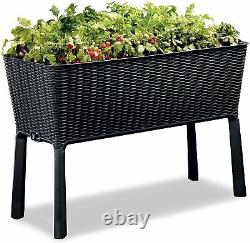 Easy Grow Gallon Raised Garden Bed with Self Watering Planter Box 31.7