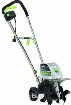 Electric Garden Tiller Rototiller Cultivator Yard Raised Bed Front Roto Tine NEW