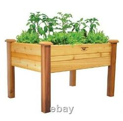 Elevated Garden Bed 34x48x32 10D Gronomics, new easy assembly