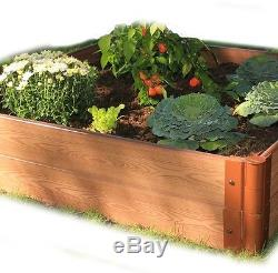 Frame It All Composite Raised Garden Bed 48 X 48 Inch Flower Landscape Box