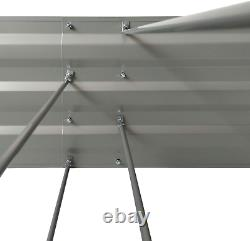 Galvanized Planters For Outdoors Raised Garden Beds Metal Elevated Box Steel Lar