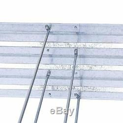 Galvanized Raised Garden Beds for Vegetables Large Metal Planter Box Steel Kit F