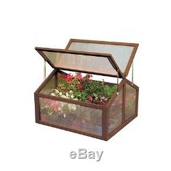 Garden Box Cold Frame Raised Glass Bed Grow House Green Large Plant Greenhouse