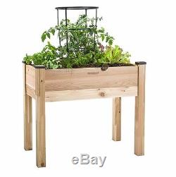 Garden Planter Box Raised Herbs Vegetables Flowers Self-watering Elevated Bed