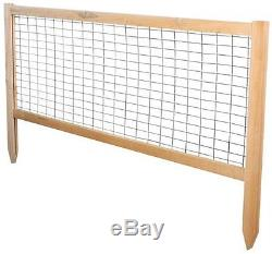 Greenes Fence 4' X 4' X 10.5'' Cedar Raised Garden Bed With CritterGuard Fence
