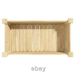 Greenes Fence Elevated Garden Bed Planter Raised Herbs Vegetables 48x24x31 Inch