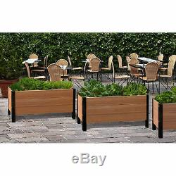 Greens Urban Garden Bed Raised Planter By New England Arbors, NO TAX