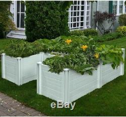 Keyhole 6 ft. X 6 ft. Composting Garden Bed No Tax