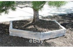 Ledgestone Raised Garden Bed 4 Pack Elevated Box Lightweight Concrete Expandable