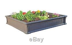 Lifetime 60069 Raised Garden Bed Kit, 4 by 4 Feet, Pack of 3 3-Bed New