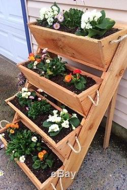 New 24 old sawmill cut, vertical gardening raised bed planting vegetables plant