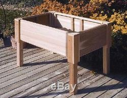 Nupitril Raised Elevated Garden Bed 48x24x32