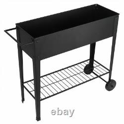 Outdoor Garden Raised Elevated Bed Plant Flower Box Vegetable Planter Herb Patio