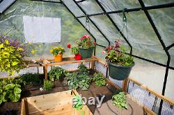 Outdoor Living Today Garden in a Box Raised Bed with Greenhouse Kit 8 x 16 ft
