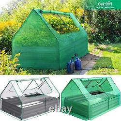 Quictent 49x37x36 Raised Garden Bed Planting Flower Herb Vegetable Plant Box