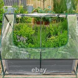 Quictent Raised Garden Bed 49x37x36 Vegetable Metal Elevated Planter Box US