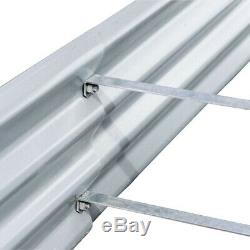 Raised Garden Bed 40 in x 76 in. X 10 in. Dimension Galvanized Metal Stakes