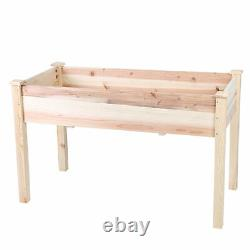 Raised Garden Bed Elevated Garden Planter Box for Vegetables Outdoor Greenhouse