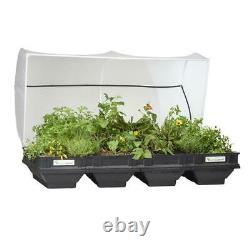 Raised Garden Bed Kit 2 m x 1 m Self-Watering Protective Cover Container Planter