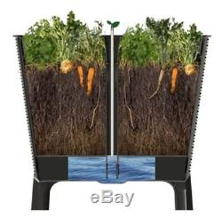 Raised Grow Box Garden Bed Elevated Planter Pot Seeds Herbs Vegetables Outdoor