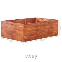 Raised Plant Bed Garden Flower Planter Elevated Vegetable Box Planting Growing