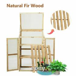 Raised Planter Bed Protection Garden Planting Flower Grow Box Outdoor Foldable