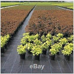 Weed barrier 5X300ft Needle-Punched compound Gardening Mat for raised bed
